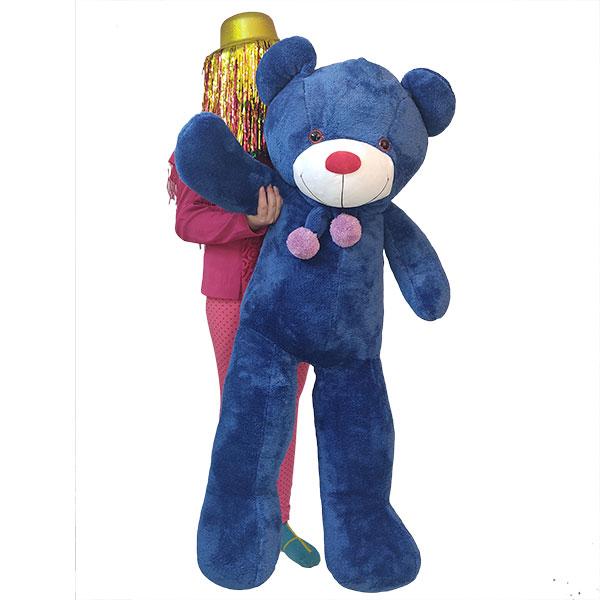 عروسک خرس بزرگ آبی پولیشی