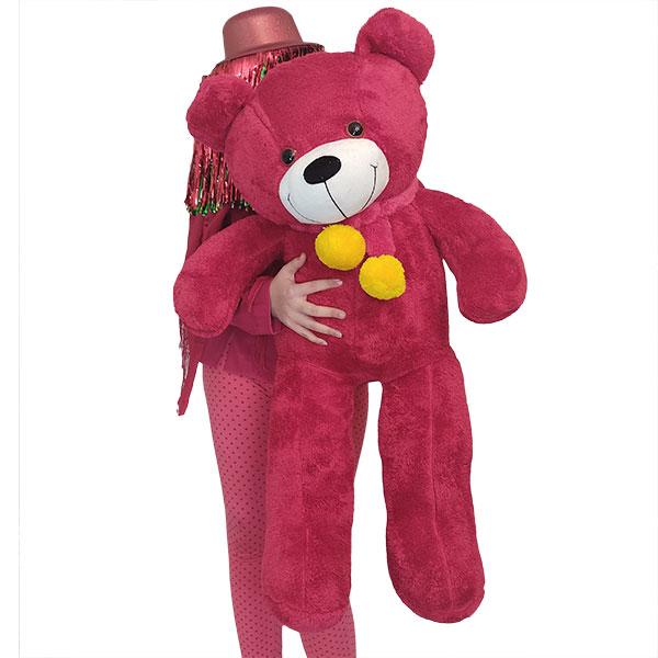 عروسک خرس بزرگ قرمز ولنتاین 1 متری