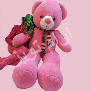 عروسک خرس خیلی بزرگ صورتی