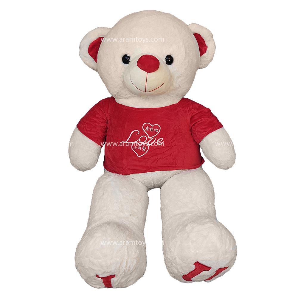 تصویر خرس عروسکی لاو بزرگ